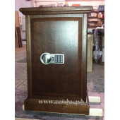 Safe Cabinet in wood No. 002